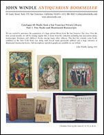 Catalogue 60, Part 1: Fine Books and Illuminated Manuscripts
