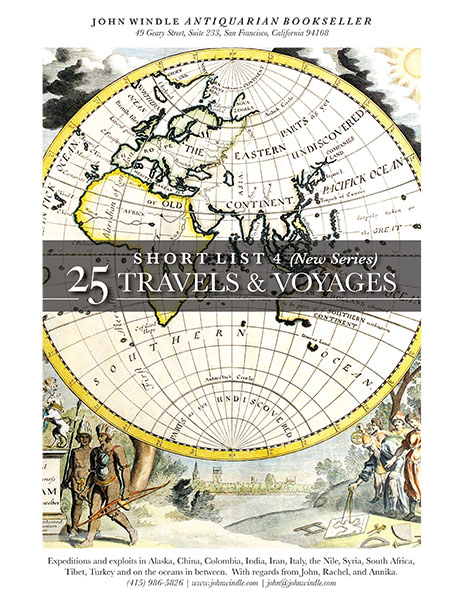 Short List 4 (New Series): 25 Travels and Voyages