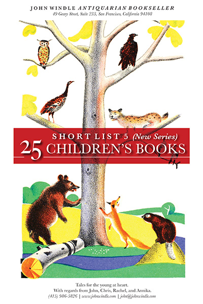 Short List 5 (New Series): 25 Children's Books
