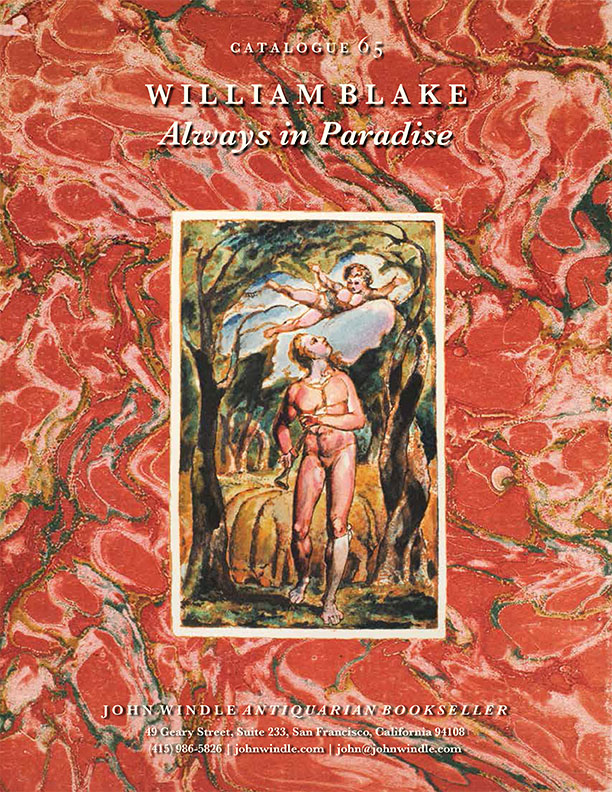 Catalogue 65: William Blake, Always in Paradise