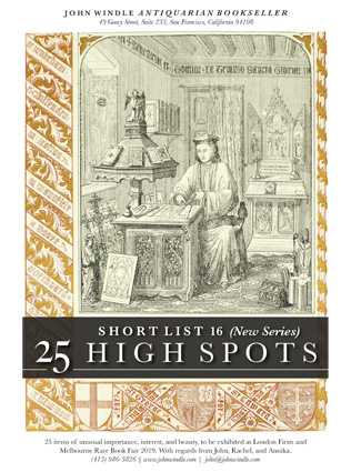 Short List 16: (New Series) 25 High Spots