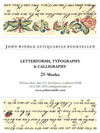 Letterforms, Typography & Calligraphy: 28 Works