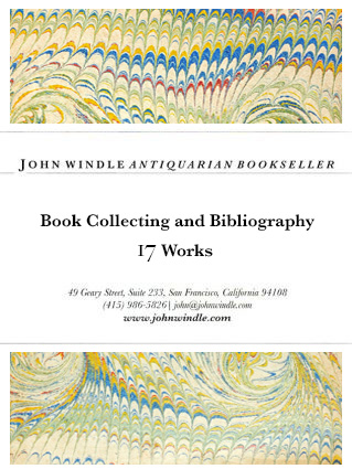 17 Works on Book Collecting and Bibliography