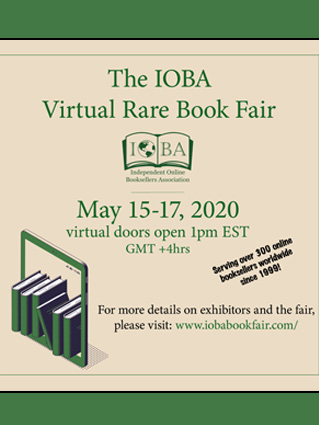 IOBA Virtual Rare Book Fair 2020