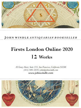 12 Works for London Firsts Online 2020