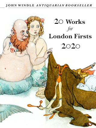 20 Works for London Firsts Online, September 2020