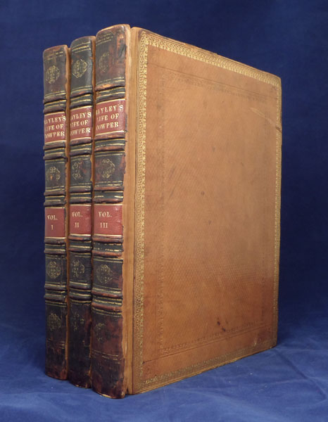 Life and Posthumous Writings of William Cowper... By William Hayley. Hayley. William Blake.