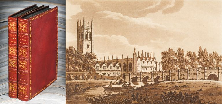 Picturesque Views on the River Thames, from its Source in Gloucestershire to the Nore; With Observations on the Public Buildings and other Works of Art in its Vicinity. In Two Volumes. Vol. I [II]. Samuel Ireland.