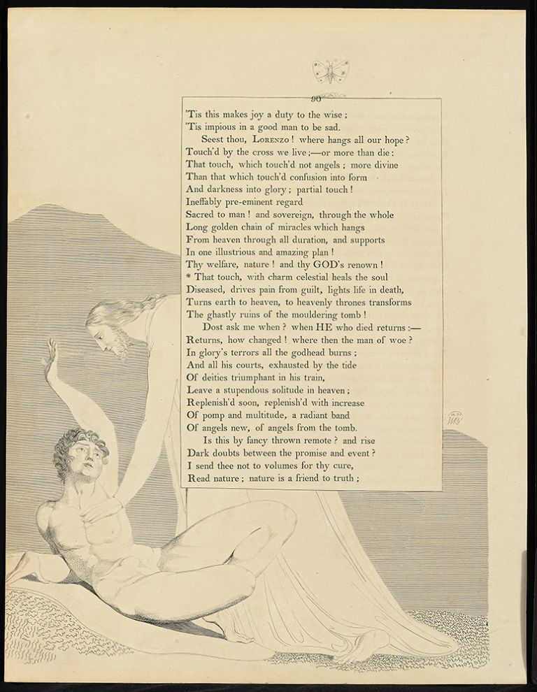 The Complaint and the Consolation; or, Night Thoughts. William. Young Blake, Edward.