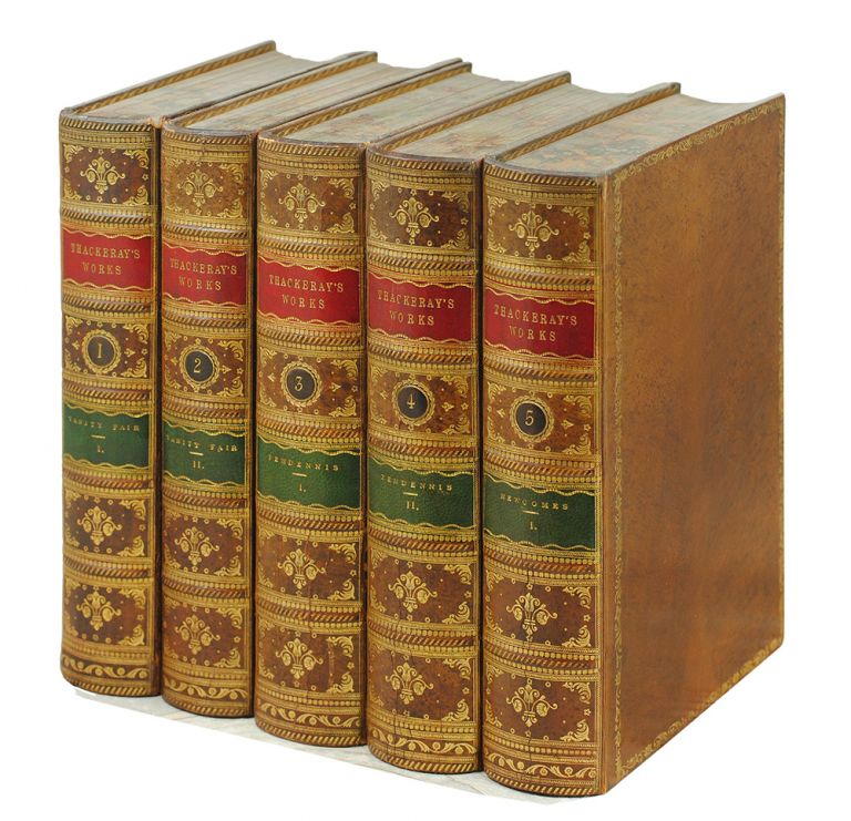 The Works of William Makepeace Thackeray in Twenty Two Volumes. William Makepeace Thackeray.