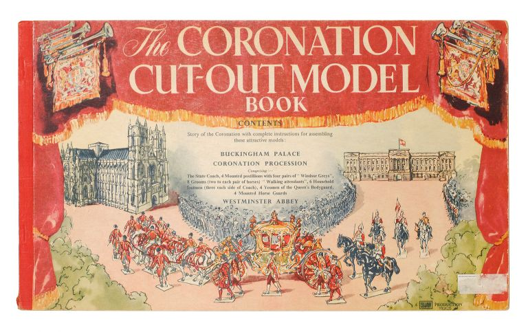 The Coronation Cut-Out Model Book. C. K. Shaw.