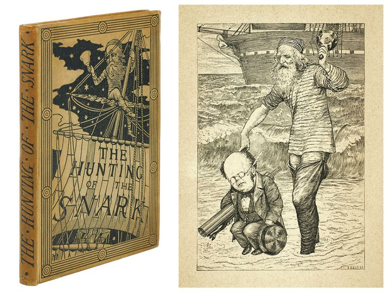 The Hunting of the Snark. An Agony, in Eight Fits. Charles Lutwidge Dodgson, pseud. Lewis Carroll.