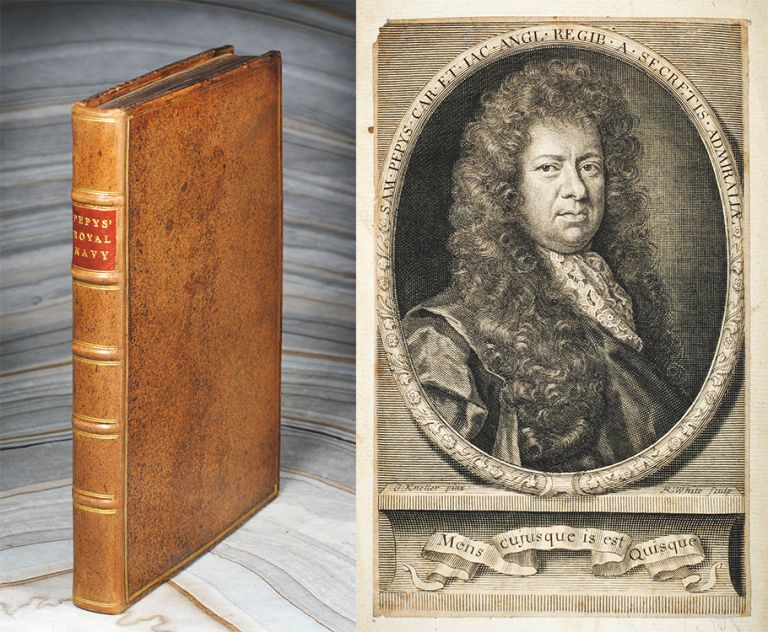 Memoires Relating to the State of the Royal Navy of England, For Ten Years, Determin'd December 1688. Samuel Pepys.