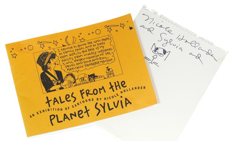 Tales from the Planet Sylvia: An Exhibition of Cartoons by Nicole Hollander. Nicole Hollander.