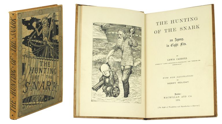 The Hunting of the Snark. Charles Lutwidge Dodgson, pseud. Lewis Carroll.