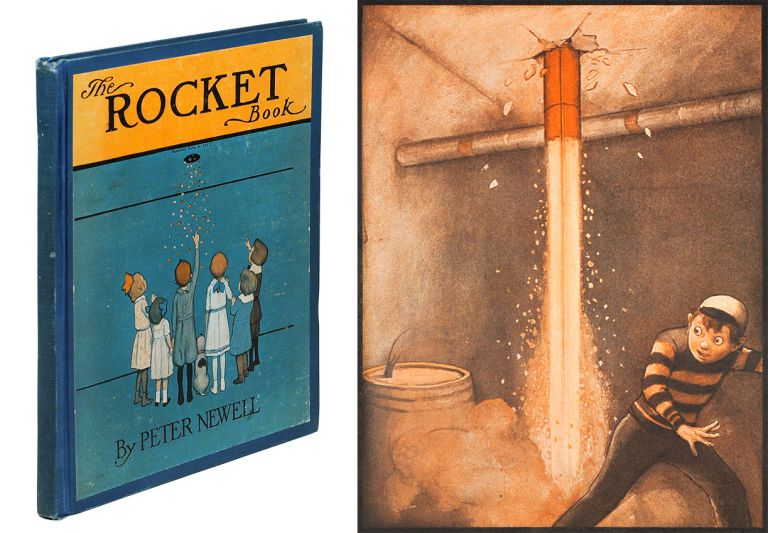 The Rocket Book. Peter Newell.