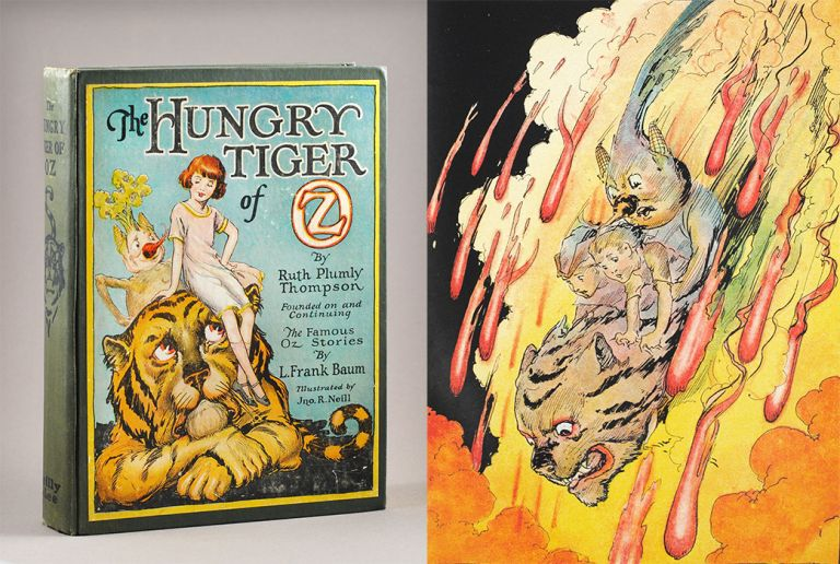 The Hungry Tiger of Oz. Ruth Plumly. John R. Neill Thompson, by.