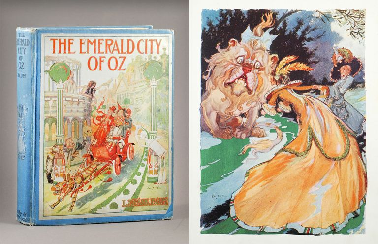 The Emerald City of Oz. L. Frank Baum, by John R. Neill.