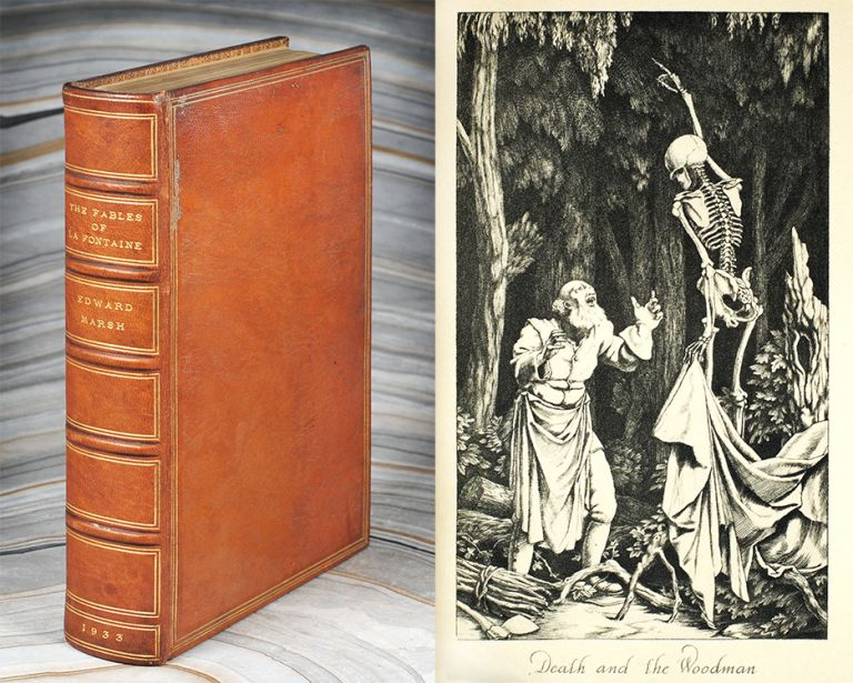 The Fables. Translated into English Verse by Edward Marsh. Jean de. Marsh La Fontaine, Edward.