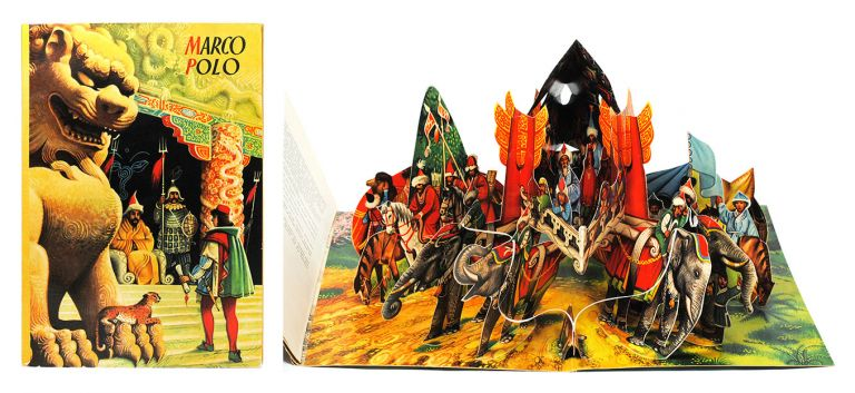 Marco Polo. Pop-up Book, Vojt ch Kuba ta.
