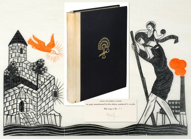Engravings by... A Selection of Engravings on Wood and Metal representative of his work to the end of the year 1927 with a complete Chronological List of Engravings and a Preface by the Artist. Eric Gill.
