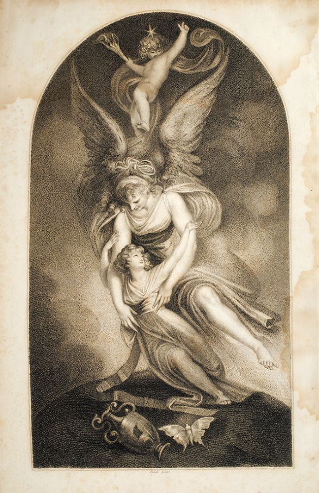 [frontispiece only to] Sorrows Sacred to the Memory of Penelope. [by Sir Brooke Boothby Bart]. Henry Fuseli.