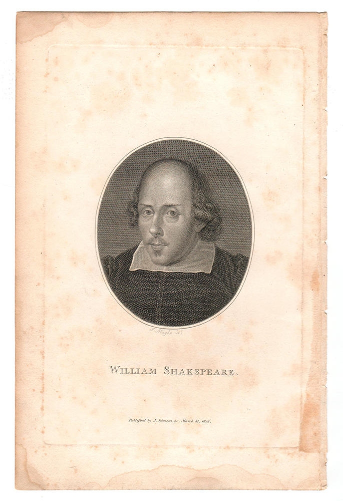 The Plays of William Shakspeare [sic] accurately printed from the Text of the corrected Copy left by the late George Steevens, Esq. With a Series of Engravings, from Original Designs of Henry Fuseli… and a Selection of Explanatory and Historical Notes, From the most eminent Commentators; a History of the Stage, a Life of Shakespeare, &c. by Alexander Chambers…. Henry Fuseli, James Neagle.