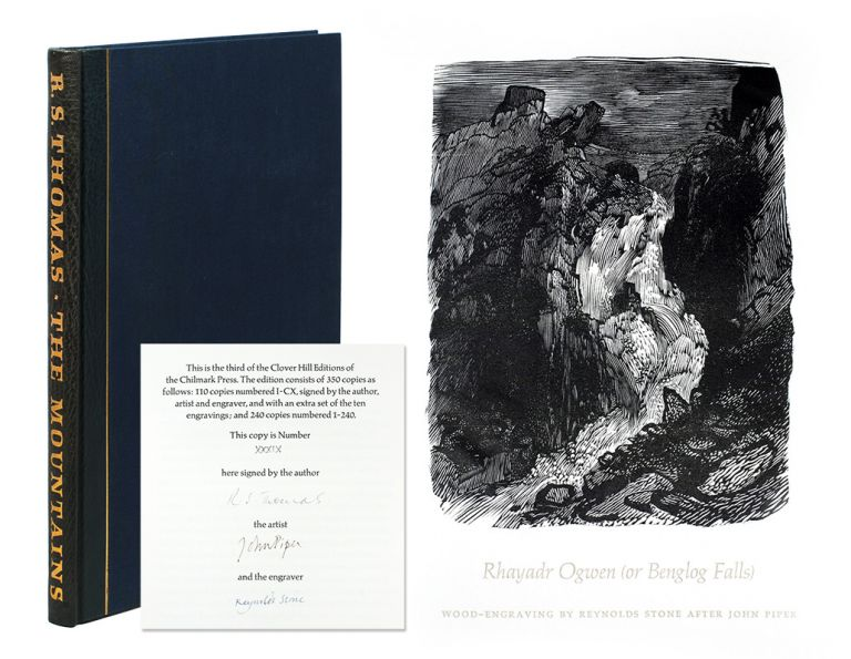 The Mountains. Illustrated with ten drawings by John Piper, engraved on the wood by Reynolds Stone, with a descriptive note by John Piper. R. S. Rampant Lions Press Thomas.