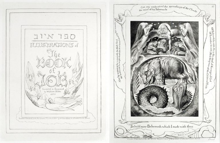 Illustrations of the Book of Job. William Blake.