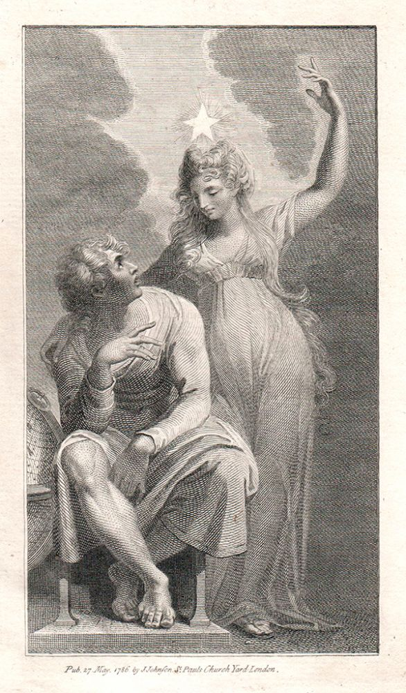 Aratus the Poet and Urania the Muse of Astronomy. Henry. Bonnycastle Fuseli, John.