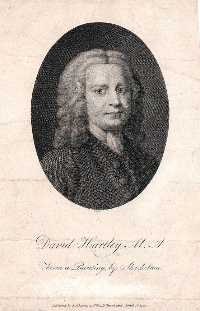 David Hartley, M.A. From a Painting by Shackelton. William. Hartley Blake, David.