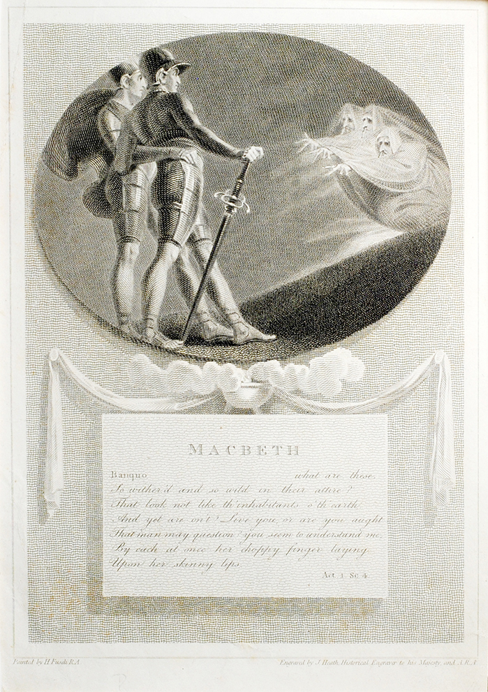 A New Edition of Shakespeare's Plays (Macbeth). Henry. Heath Fuseli, J.