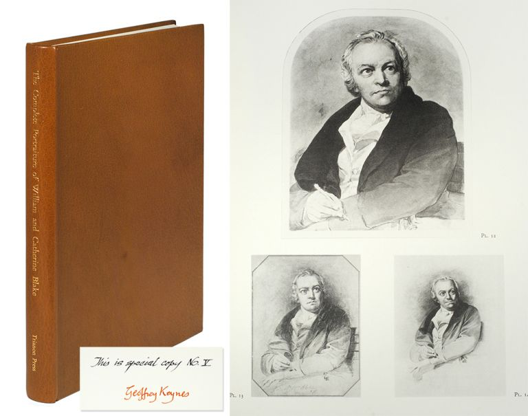 The Complete Portraiture of William and Catherine Blake. William. Keynes Blake, Geoffrey, Trianon Press.