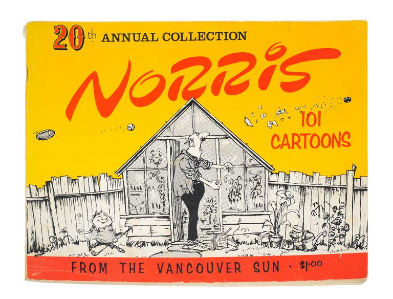 20th Annual Book of Norris Cartoons from the Vancouver Sun [Paperback]. Leonard Norris.