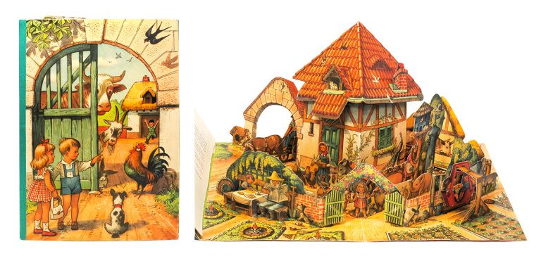 Peter and Sally on the Farm. Pop-up Book, Vojt ch Kuba ta.