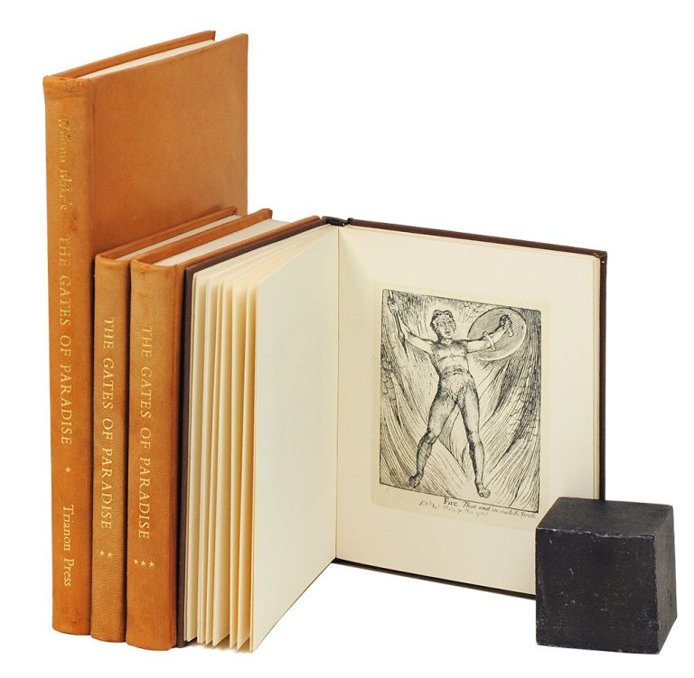 The Gates of Paradise. For Children. For the Sexes. William Blake, Trianon Press.