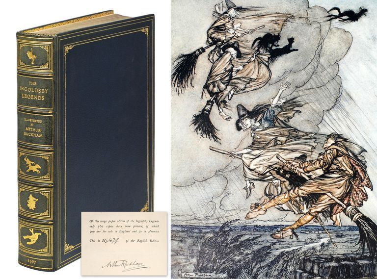 The Ingoldsby Legends or Mirth and Marvels... Illustrated by Arthur Rackham. Thomas Barham.