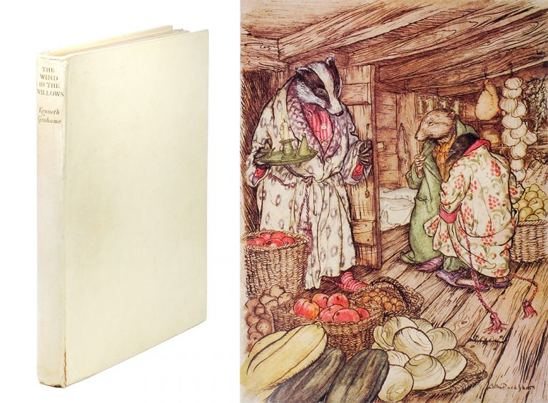 The Wind in the Willows. Illustrated by Arthur Rackham. [The Hundredth Edition]. Kenneth Grahame.