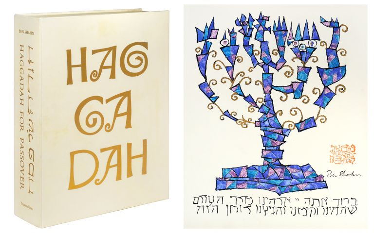 Haggadah for Passover, Copied and Illustrated by Ben Shahn. Ben Shahn.