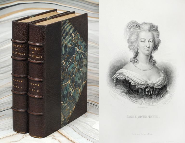 Madame Tussaud's Memoirs and Reminiscences of France...with extra illustrations. Francis Hervé, ed.