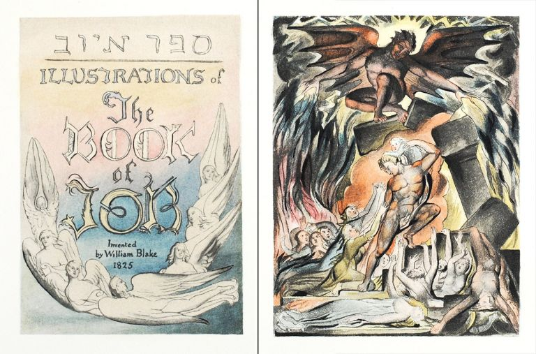 Illustrations of the Book of Job (The New Zealand Set). William. Trianon Press Blake.