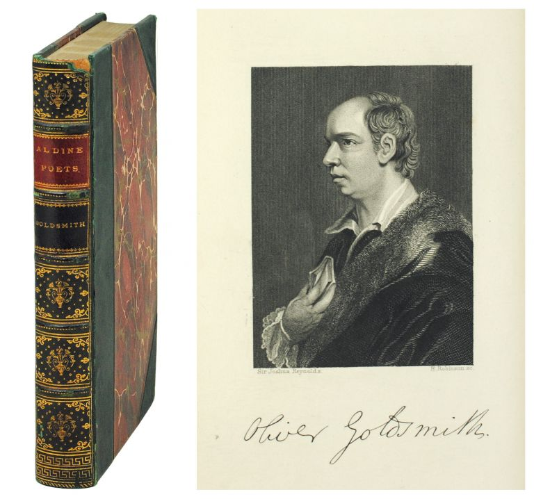 The Aldine Edition of the British Poets. The Poetical Works of Oliver Goldsmith. Oliver. Mitford Goldsmith, J., ed.