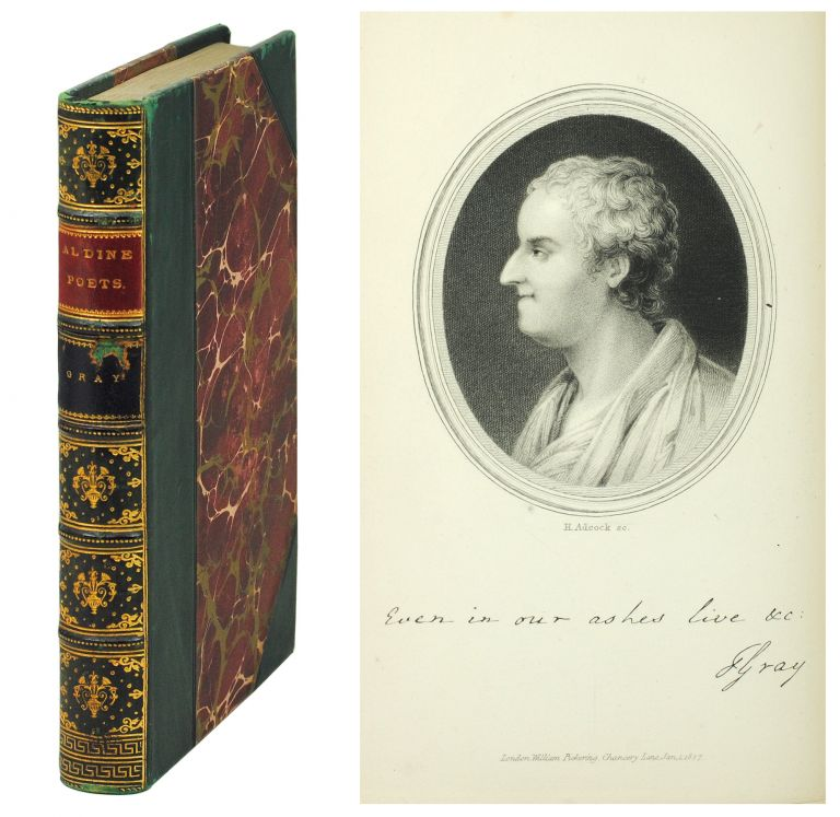 The Aldine Edition of the British Poets. The Poetical Works of Thomas Gray. Thomas. Mitford Gray, J., ed.