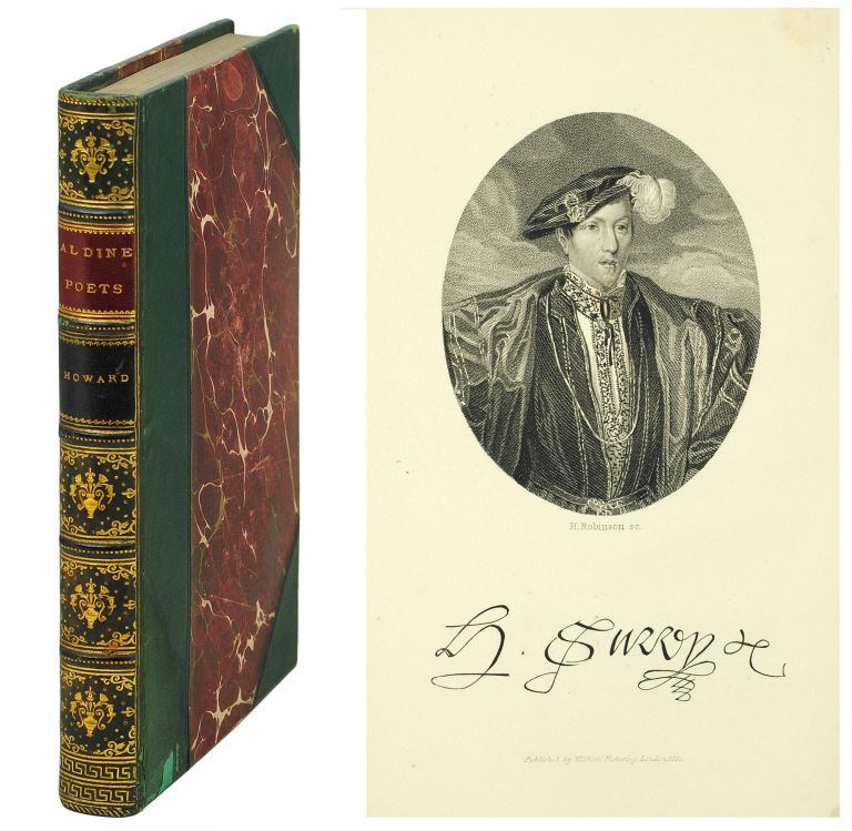 The Aldine Edition of the British Poets. The Poems of Henry Howard Earl of Surrey. Henry. Nicolas Howard, Sir H., ed.