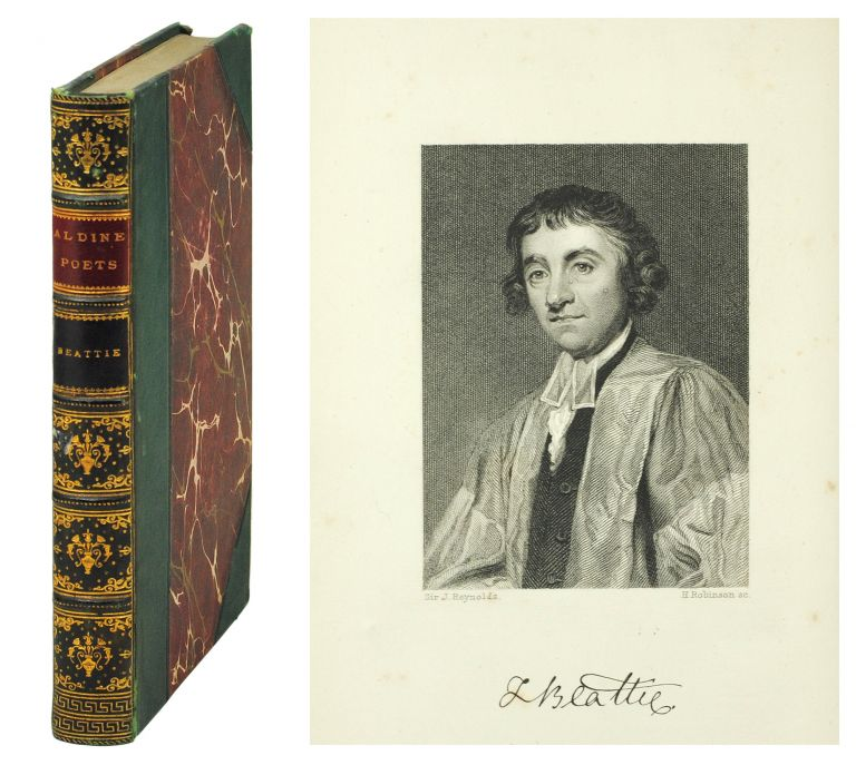 The Aldine Edition of the British Poets. The Poetical Works of James Beattie. James. Dyce Beattie, A., ed.
