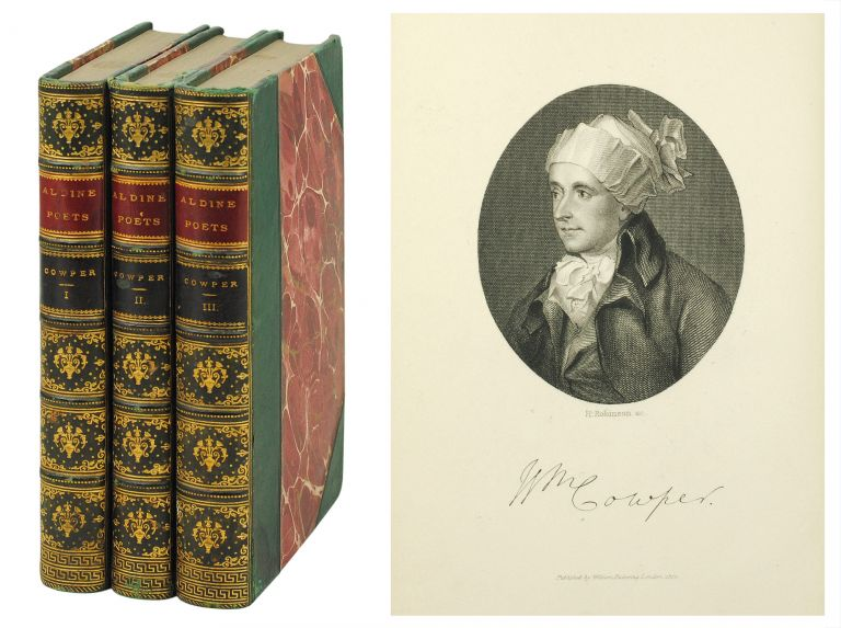 The Aldine Edition of the British Poets. The Poetical Works of William Cowper. William. Nicolas Cowper, Sir H., ed.