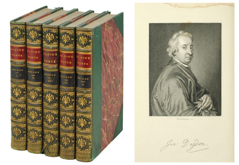 The Aldine Edition of the British Poets. The Poetical Works of John Dryden. John. Mitford Dryden, J., ed.