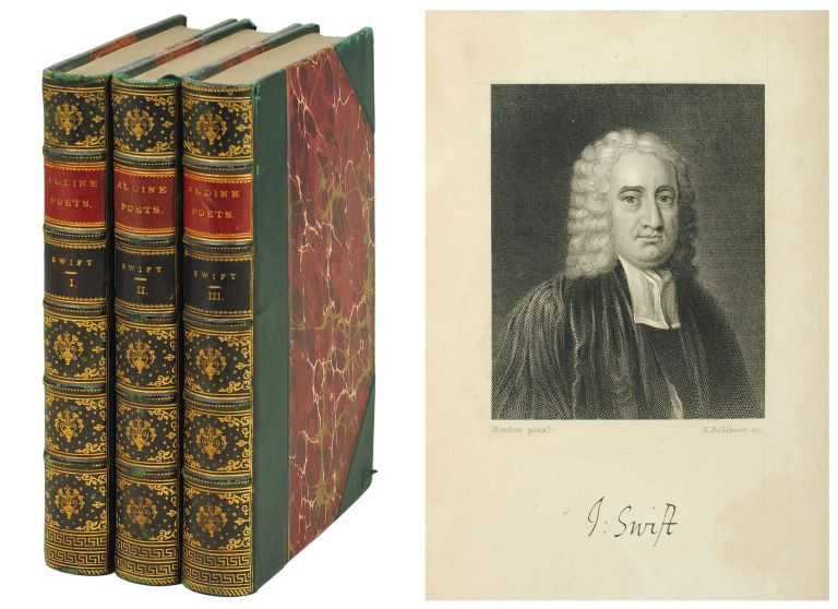 The Aldine Edition of the British Poets. The Poetical Works of Jonathan Swift. Jonathan. Mitford Swift, J., ed.