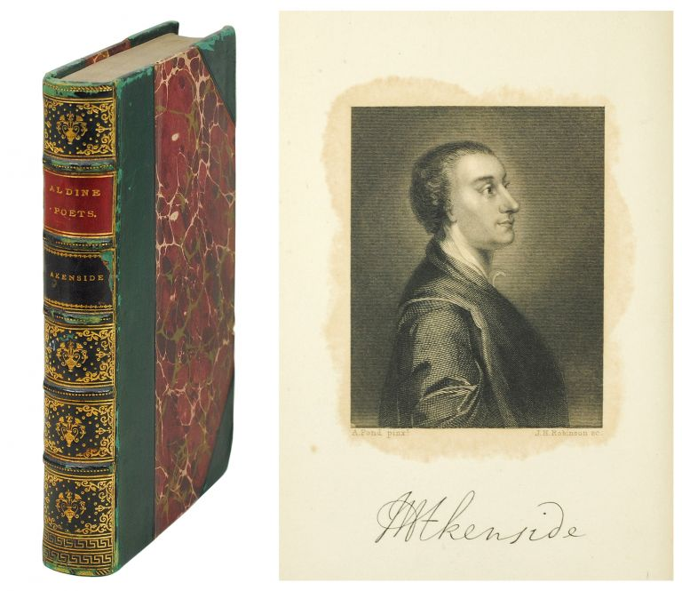 The Aldine Edition of the British Poets. The Poetical Works of Mark Akenside. Mark. Dyce Akenside, A., ed.