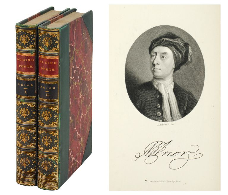 The Aldine Edition of the British Poets. The Poetical Works of Matthew Prior. Matthew. Mitford Prior, J., ed.